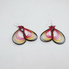 Boucles d'oreilles en bambou Butty