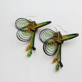 Boucles d'oreilles en bambou Jamaïca