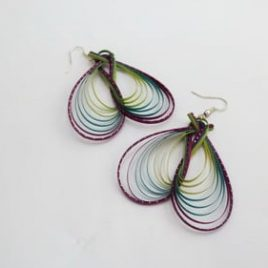 BOUCLES BAMBOU BUTTERFLY
