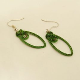 Boucles bambou Simple Green