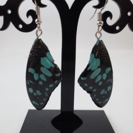 boucles d'oreilles papillons pastel
