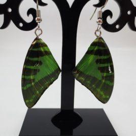 boucles d'oreilles papillons printemps