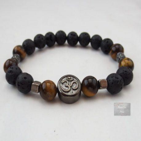 Bracelet homme Œil de Tigre Ohm