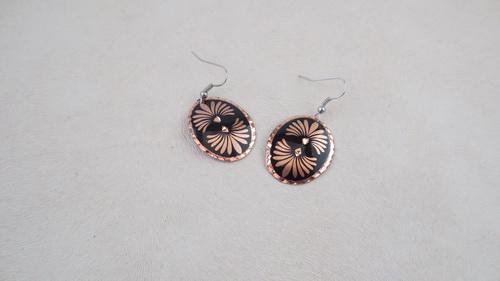 Bijoux fantaisie cuivre black medal