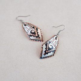 Boucles d'oreilles Silver Ang