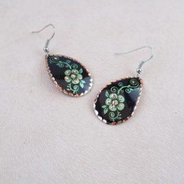 Bijoux fantaisie cuivre green lily