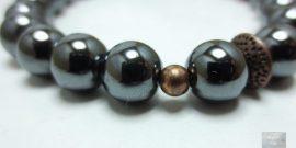 Bijoux pierres naturelles hématite