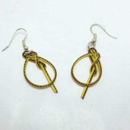 Boucles d'oreilles en bambou YellowBee