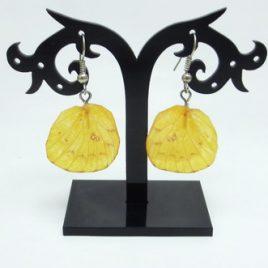 Boucles d'oreilles ailes de papillons Yello