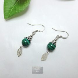 Boucles fines Malachite Fili