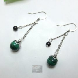 Boucles fines Malachite Rainy