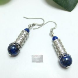 Boucles Lapis Lazuli Yam