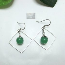 Boucles Aventurine Square