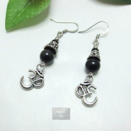 Boucles Obsidienne Ohm