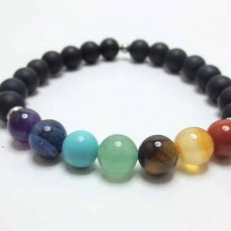 Bracelet 7 Chakras pierres