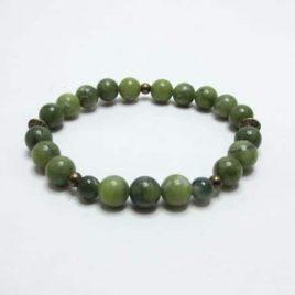 Bracelet Jade vert Taïwan
