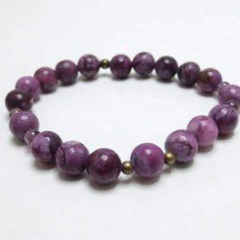 Bracelet Charoïte violet