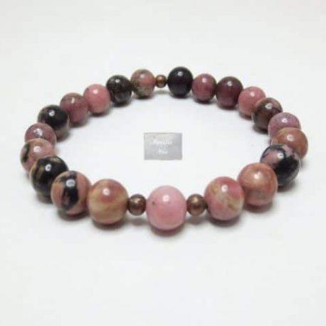 Bracelet pierre Rhodonite