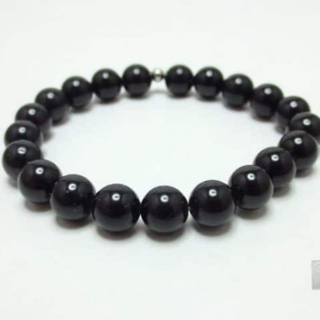 Bracelet pierre Spinelle noire