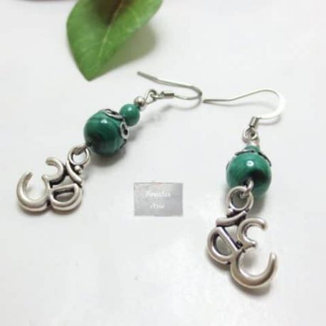 Boucles fines Malachite Ohm