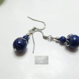 Boucles Lapis Lazuli Kao