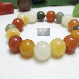 Bracelet Jade Coloré