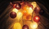 Guirlande lumineuse Automne