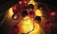 Guirlande lumineuse Marron