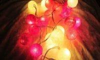 Guirlande lumineuse Rose