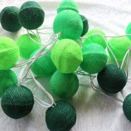 Guirlande lumineuse Verte