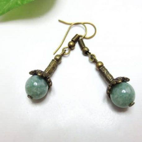 Boucles fines Jade Old